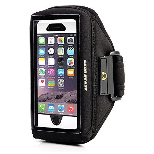 [iPhone 6S/6/Galaxy S6�Armband] Sport Gym Sportarmband Fall kompatibel [OtterBox/Lifeproof/andere] f�r iPhone 6S/iPhone 6/Galaxy S6/S6�Edge/S5/HTC/Nokia/Motorola