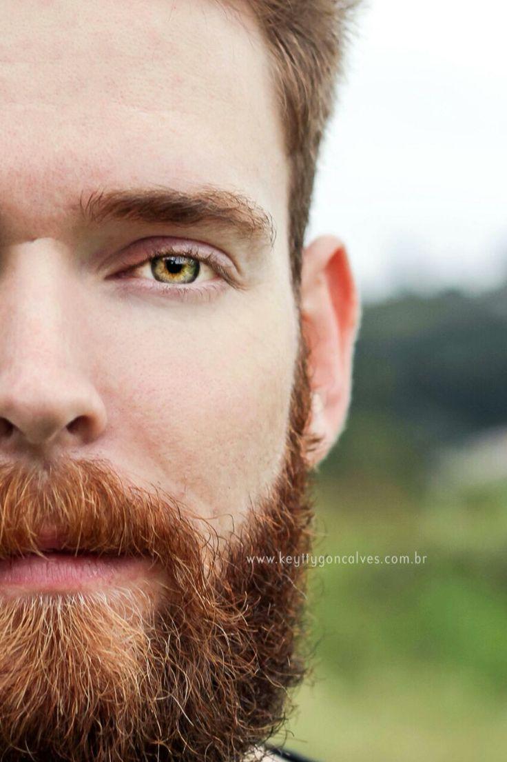 #barba #beard #barbaruiva #lumbersexual #greeneyes