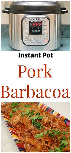 Instant Pot Pork Barbacoa only has five ingredients! A sweet & spicy dinner perfect for tacos. | What's Cookin, Chicago?