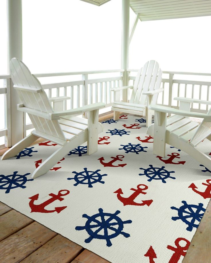 Captain's Wheel Indoor/Outdoor Rugs $75-$1,380