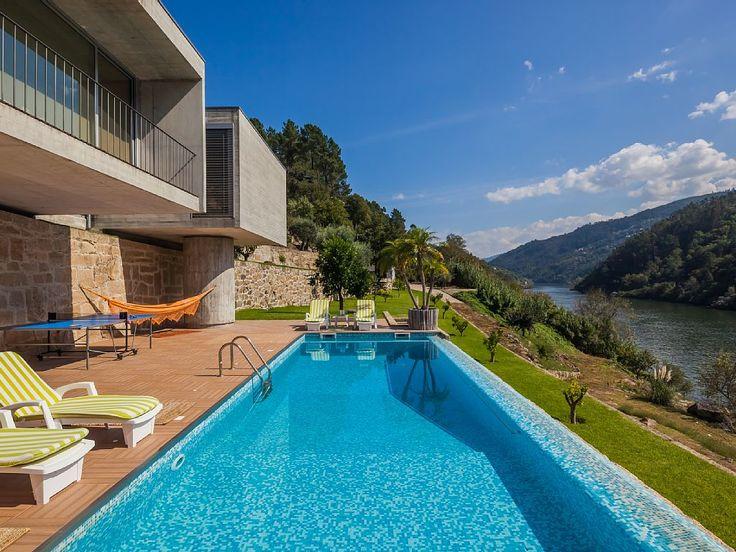 Aluguer de vivenda para férias no Porto - Panoramica piscina