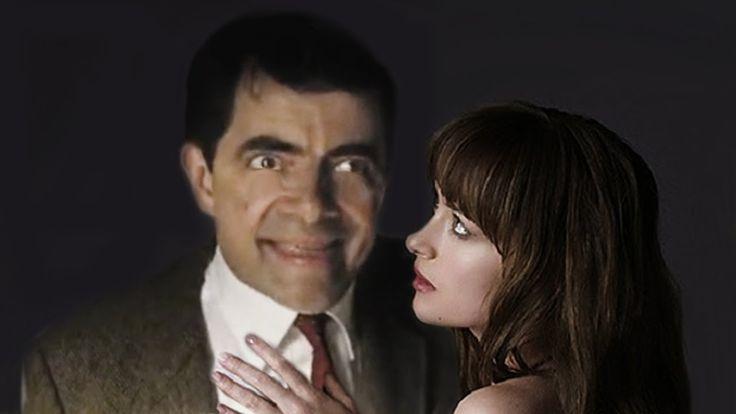 Fifty Shades of Grey featuring Mr  Bean - Rowan Atkinson blu ray:dvd tra...