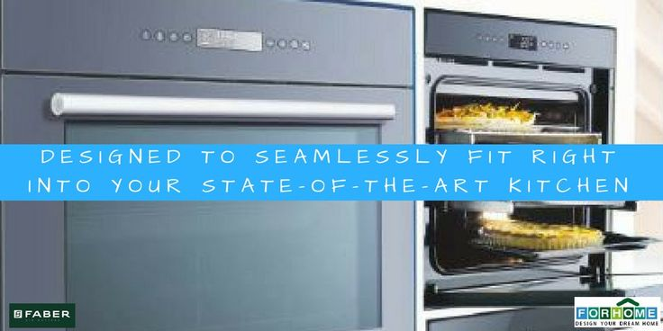 Simple Design that Speaks Quality: Faber Built-in-Oven  #faberbuiltinoven #builtinoven #modernkitchen