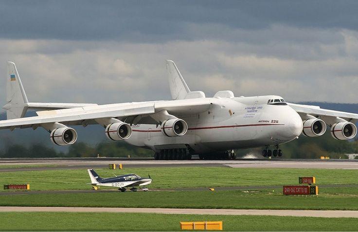 Nem A380, nem Boeing 747. O maior avião do mundo é o ucraniano Antonov AN-225 (Antonov)