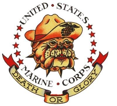 USMC, Death or Glory, Sailor Jerry, T Shirt Design, Rockabilly, Psychobilly, Vulture Graffix, Tattoo Design http://vulturegraffix.onlineshirtstores.com/