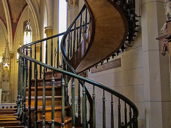 Best Loretto Chapel Church The Famous Spiral Staircase Santa 400 x 300