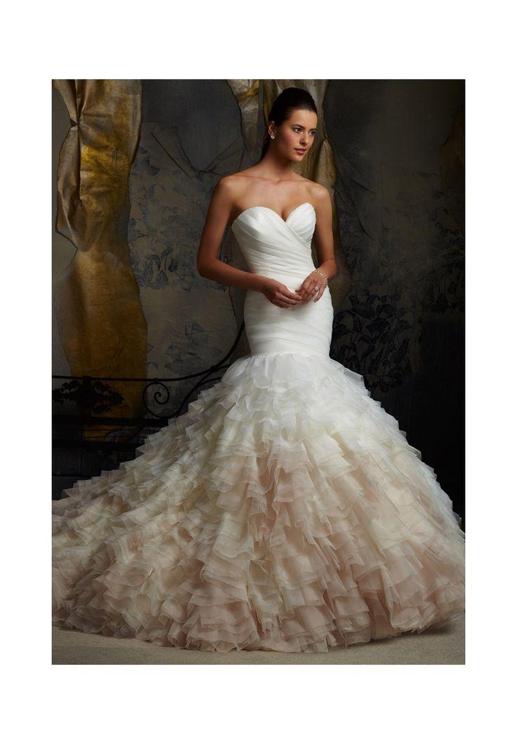73 best Mori Lee Bridal Gowns images on Pinterest | Wedding frocks ...