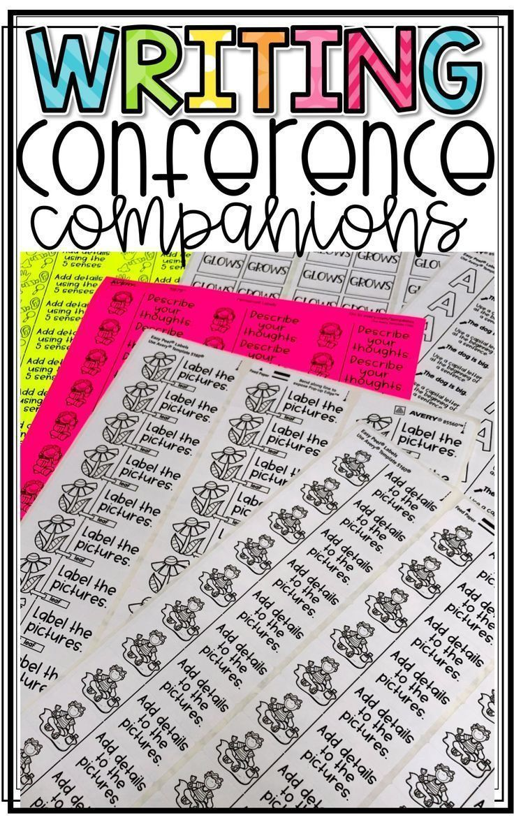 Writing Conference Companions-Printable Strategies | Teaching