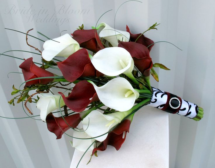 The callas lilies are soft to touch and look so real, you are sure to love them. Description from brideinbloom.indiemade.com. I searched for this on bing.com/images
