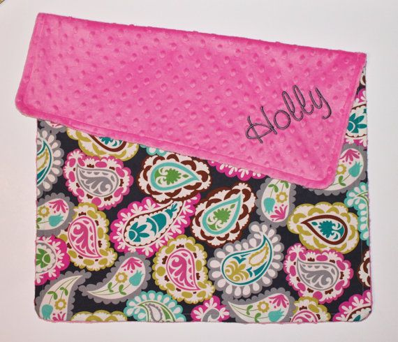 Hey, I found this really awesome Etsy listing at http://www.etsy.com/listing/90090677/personalized-baby-girl-stroller-blanket