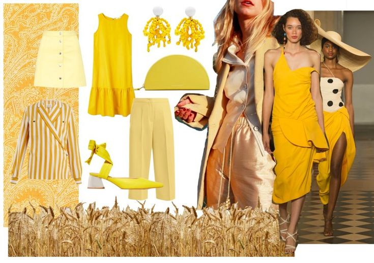 Yellow brings sunshine into your wardrobe. That's why we've already searched out the best pieces in the color – just in time for the start of spring   ©Collage / Franziska Steinle #GenZYellow