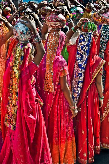 """Fashion Parade"" by Glen Allison Rajasthan, India."