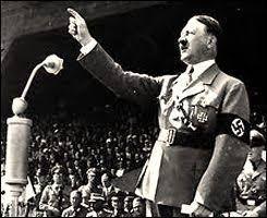 Het verhaal speelde af samen met de tweede wereldoorlog, met Adolf Hitler natuurlijk...
