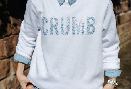Sudadera Blanca   Crumb , Otoño-Invierno 2014. En el armario de lapetiteblonde desde el 30-4-2014