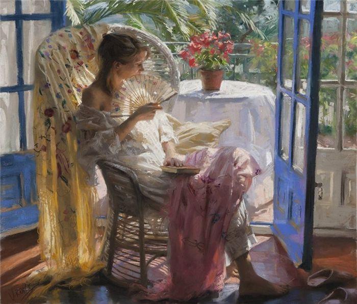 Vicente Romero, 1956 | Figurative painter | Painting, Spanish artists, Art painting oil