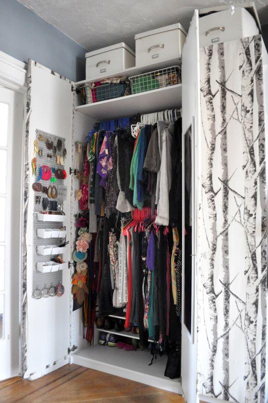 Apartment Closet Organization Ideas