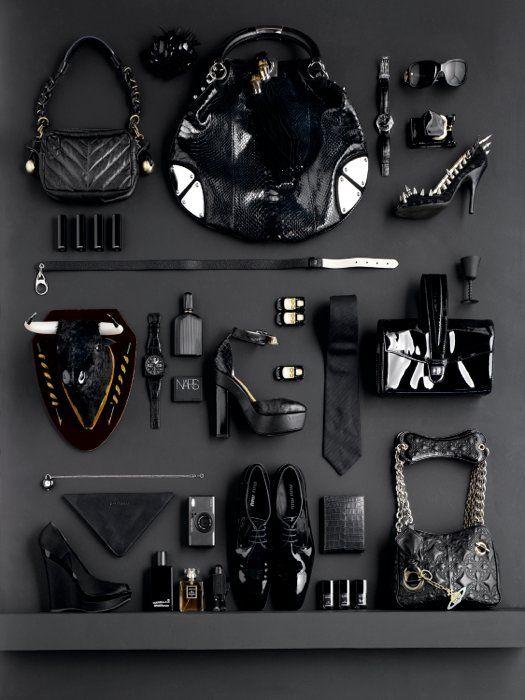 Product by colour - Black on Black | Luke Kirwan | Still Life