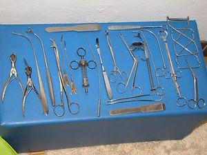 Medizinische Instrumente Sauger Zangen Tonsillektomie HNO | eBay