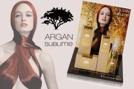 """Ζήστε κι εσείς την απολαυστική εμπειρία που σας προσφέρει η νέα σειρά """"Argan Sublime"""" της Ιταλικής Εταιρείας """"Farmavita"""", που σχεδιάστηκε για να δημιουργεί υγιή, σαγηνευτικά και μεταξένια μαλλιά!    Δηλώστε τώρα συμμετοχή* στο Διαγωνισμό του mybest.gr και λάβετε μέρος στην κλήρωση της 12ης Νοεμβρίου, που θα χαρίσει σε πέντε τυχερούς/τυχερές από ένα σετ της νέας πολυτελής σειράς περιποίησης των μαλλιών τους."""