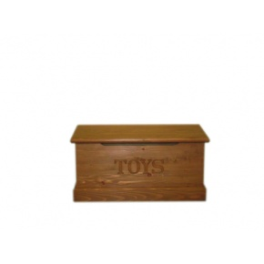Portchester Pine Waxed Toy Box  www.easyfurn.co.uk