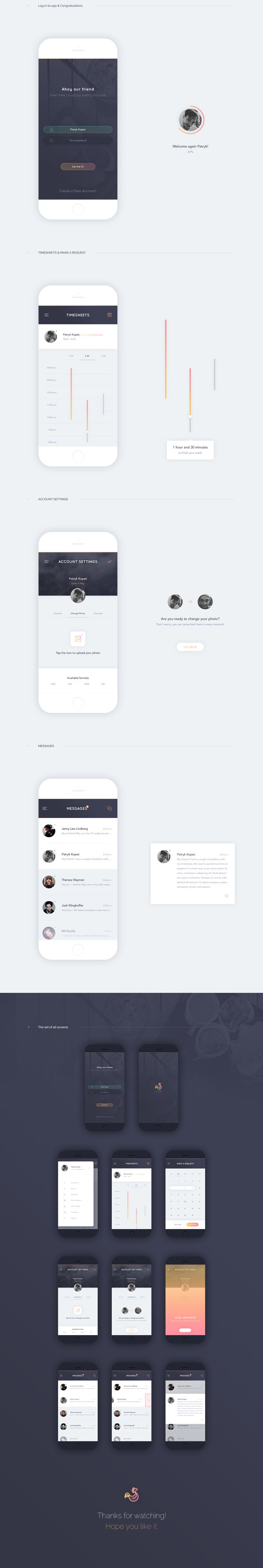 Roostr - Mobile App on Behance