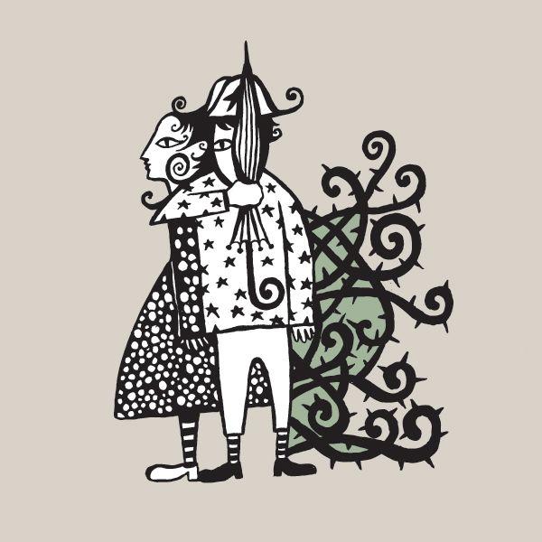 Ilustra Cordel por Rogério Fernandes
