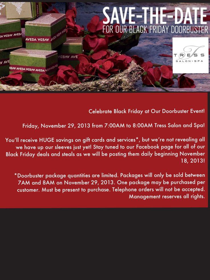 Celebrate Black Friday at Tressu0027s Doorbuster Event