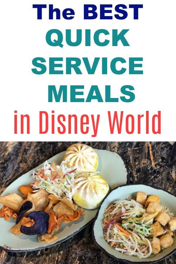 Best Quick Service Meals At Disney World Magic Kingdom