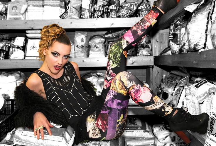 Editorial photography, graphic leggings, Crystal graphic leggings, Athletic,  Active, Street wear, Fashion by Some Product