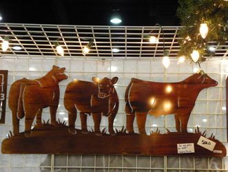 SJ Cattle & Creations - Cattle Metal Cutouts