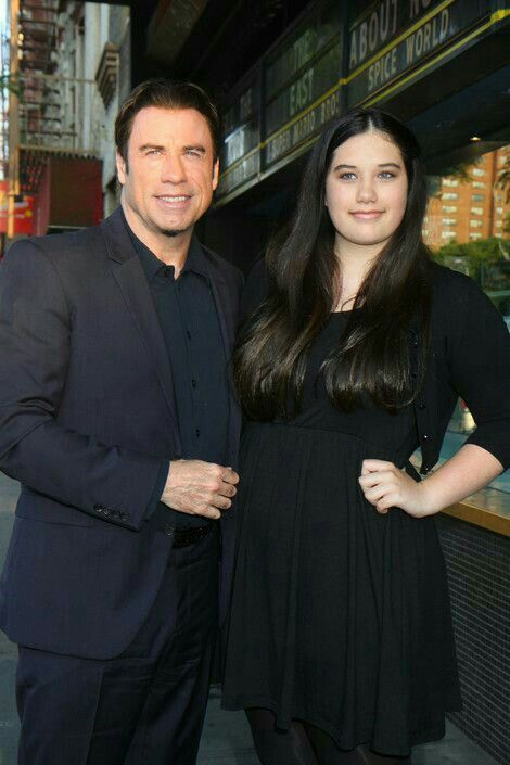John Travolta and daughter Ella Bleu Travolta | Celebrity dads, Celebrity families, Celebrity kids