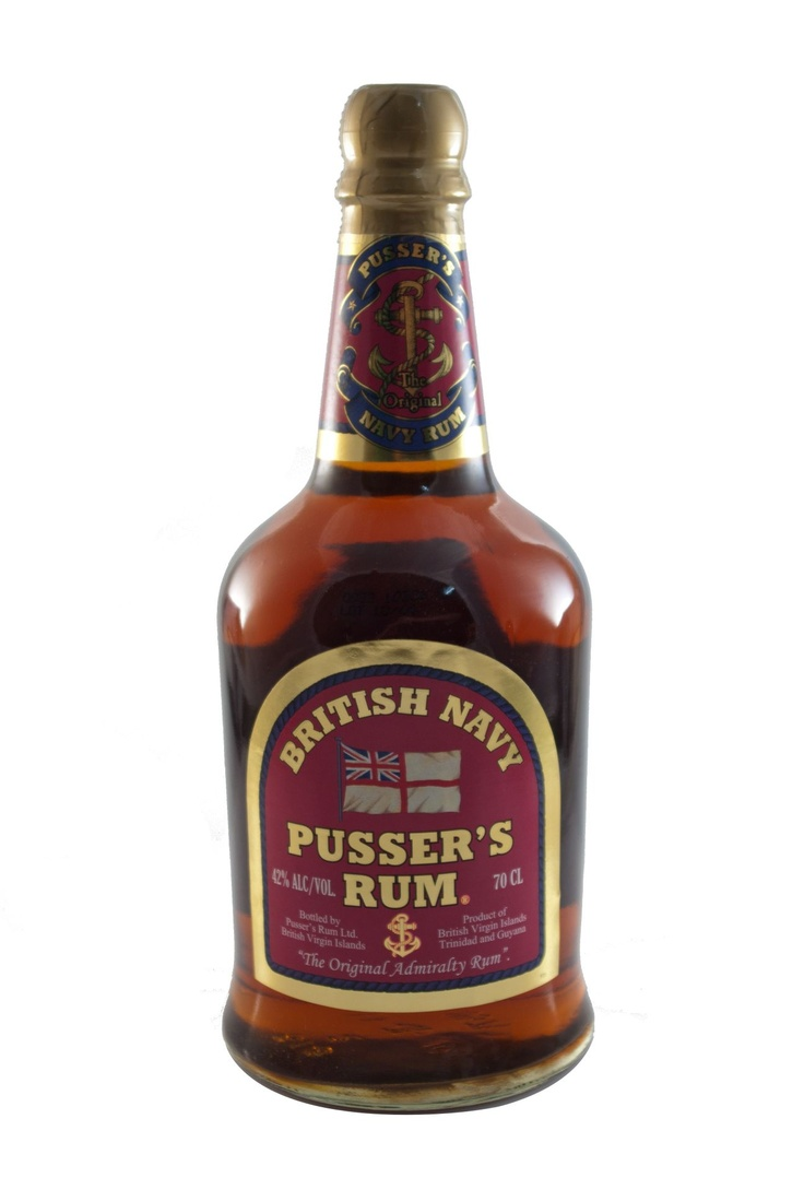 Pussers Rum, British Navy / 42% vol (0,7L)