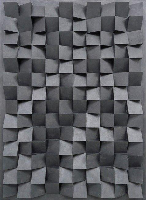 devidsketchbook:  Jan Albers - hundredfortyupanddown, 2011 graphite on oak 140 x 1000cm