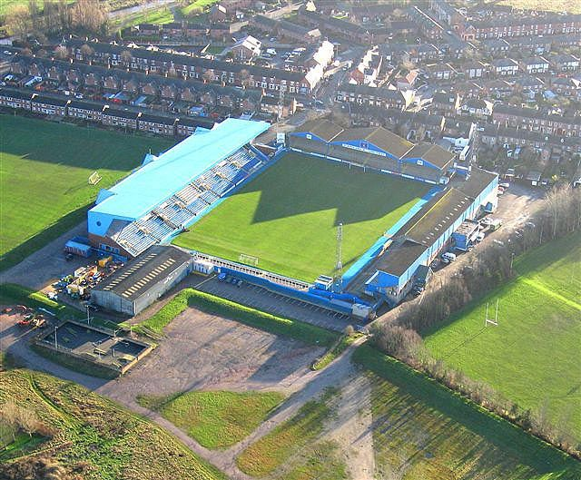 At over 100 years old and with a capacity of over 18,000, Carlisle United's Brunton Park is the largest non-all-seater stadium in the country, and among the oldest in the Football League.