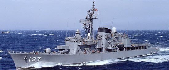 """海上自衛隊:ギャラリー:護衛艦(艦艇):はつゆき型 (DD""""HATSUYUKI""""Class)"""