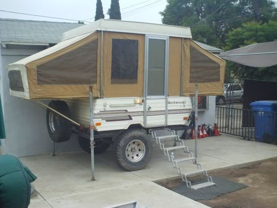 "Forward Folding Camper Trailer >> Off-Road Pop Up Tent Trailers | My TV: Modified Astro 4x4; 4"" lift, 30.75"" tires, 4:10 gears ..."