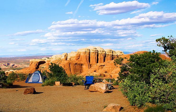 Devils Garden Campground, Arches National Park | These campgrounds shine in autumn, when the weather is mellow—and so are the crowds