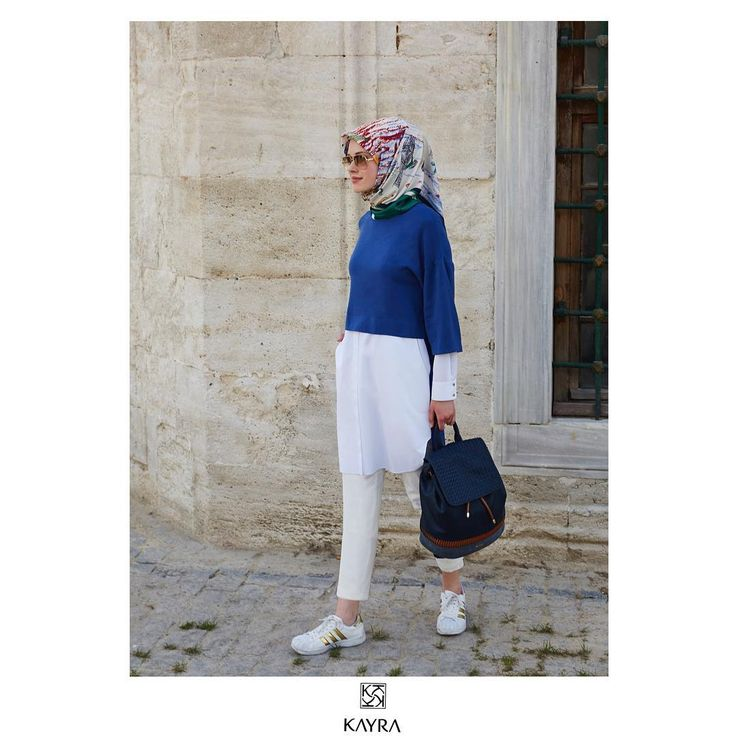 Şehri keşfederken✌️   Discovering the city.  Ürün kodu   Ref no: B6 21136 #Saks #Tunik ; B6 ESP15 #İpek #esarp ; B6 CNT02 #canta #Kayra #kayrastyle #kayraweekend #hijab #hijabi #ootd