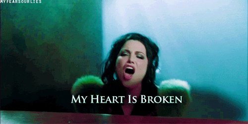 My heart is broken - Evanescence / Amy Lee
