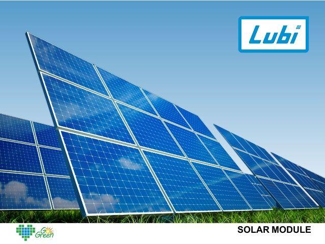 Lubi Solar Solar Panel Manufacturer India Solar Panels Solar Power Panels Solar
