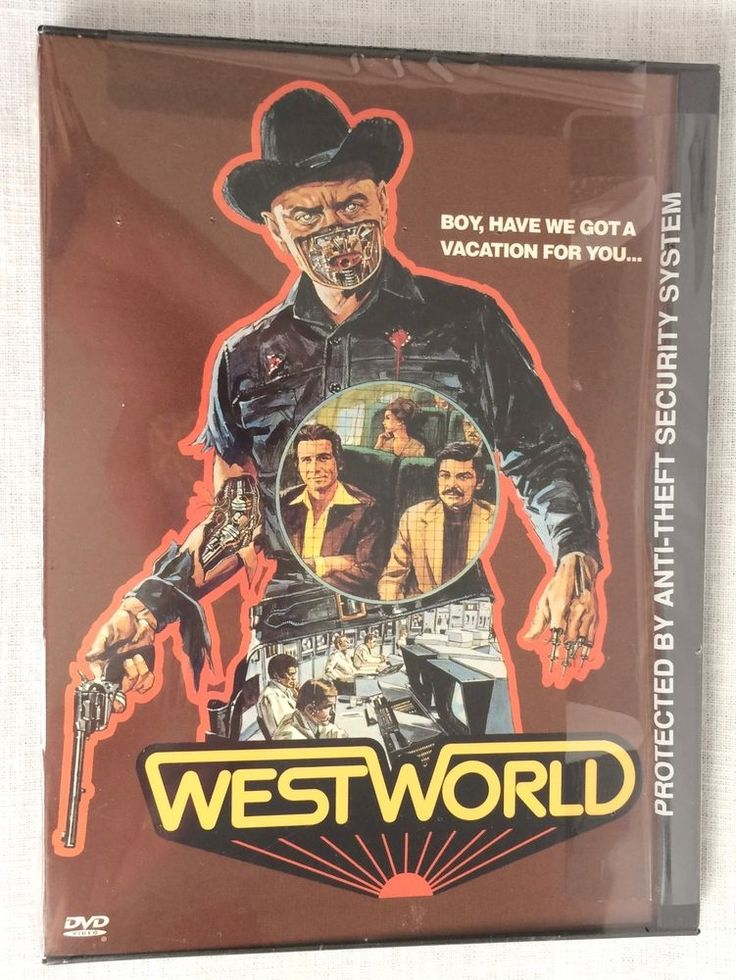 Westworld DVD New Sealed Boy Have We Got A Vacation For You 012569506725