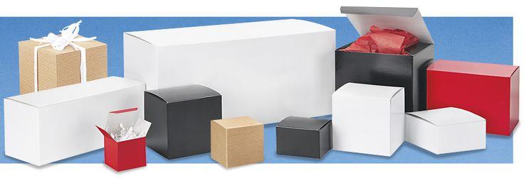 Gift Boxes, Wholesale Gift Boxes, White Gift Boxes in Stock - ULINE