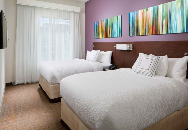 Residence Inn West Palm Beach Downtown/CityPlace Area - Two-Bedroom Suite Double/Double