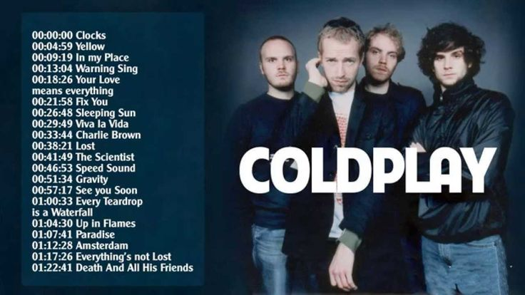 Best of Coldplay (full album) - Coldplay's greatest hits