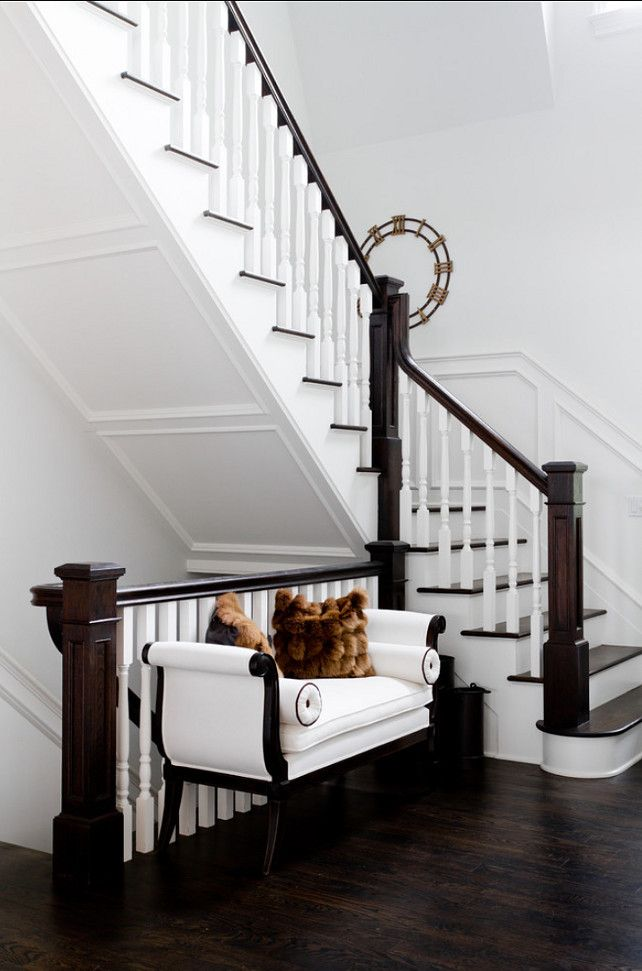 home interior design stairs%0A Classic Beach House with Elegant Interiors  Home Bunch  An Interior Design   u     Luxury Homes