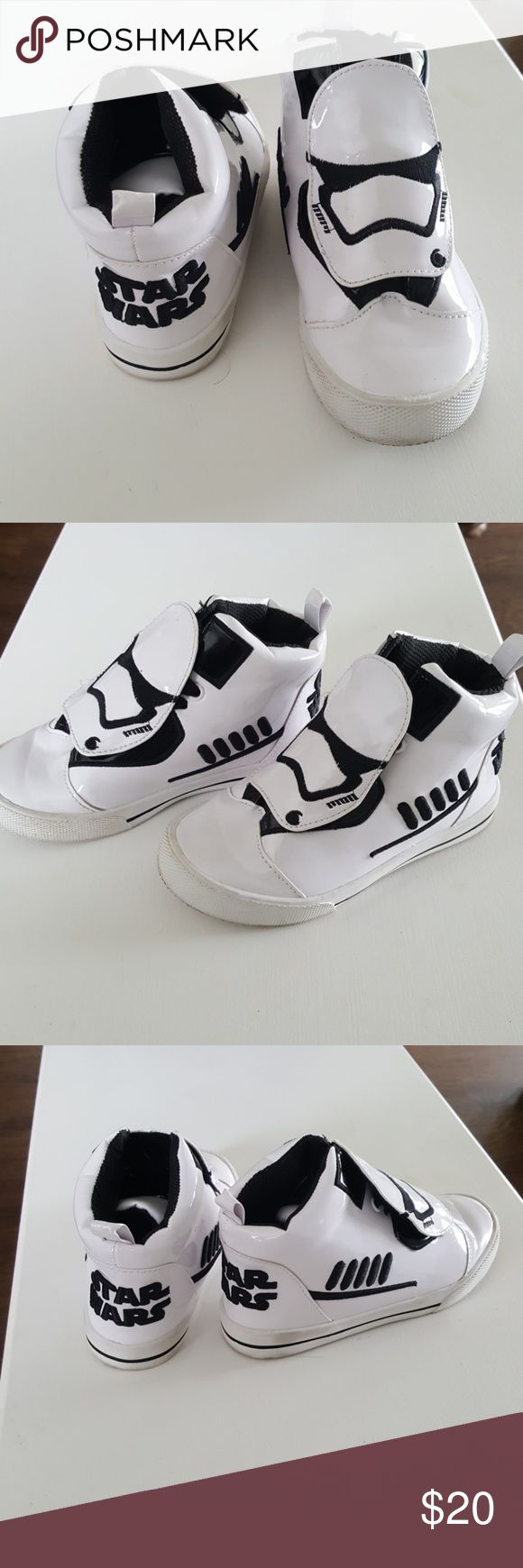 Boys Star Wars Sneakers White Storm Trooper Sneakers for Boys Disney Shoes Sneakers
