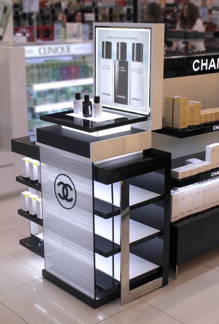 Makeup and Skincare units that distinctively showcase your brand