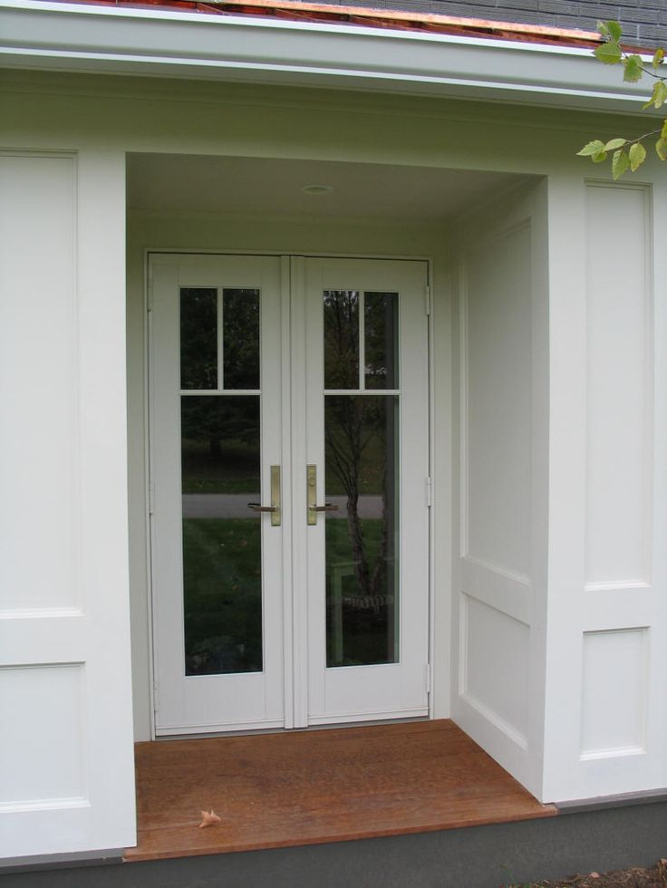 exterior doors that open out - Google Search