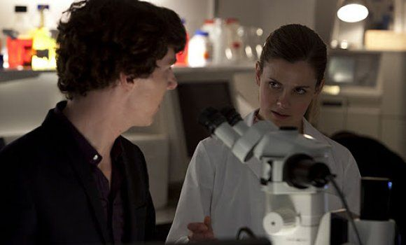 "Sherlock's Louise Brealey - ""I'd write a shocking kiss for Molly and Sherlock"""