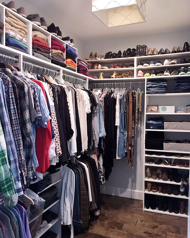 A professional organizer shares how to easily update a closet using inexpensive…